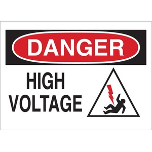 25900 ELECTRICAL HAZARD SIGN