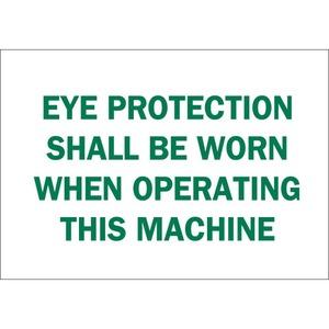 25591 EYE PROTECTION SIGN