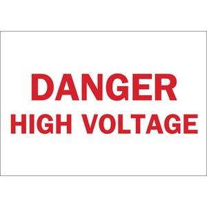 25772 ELECTRICAL HAZARD SIGN