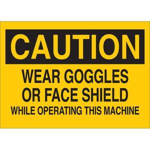 22601 MACHINE & OPERATIONAL SIGN