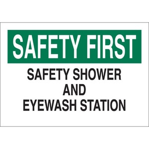 22655 FIRST AID SIGN