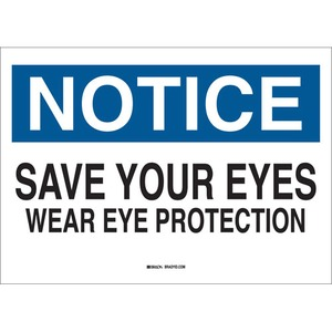 22631 EYE PROTECTION SIGN