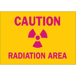 25279 RADIATION & LASER SIGN