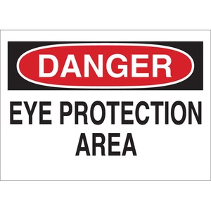 22612 EYE PROTECTION SIGN