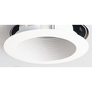 "444WWH 4"" LV WHITE TRIM MR16"