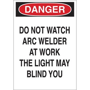 22609 EYE PROTECTION SIGN