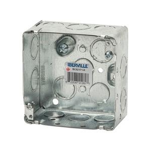 """BC52171K 4"""" SQUARE BOX 2-1/8"""" DEEP"""