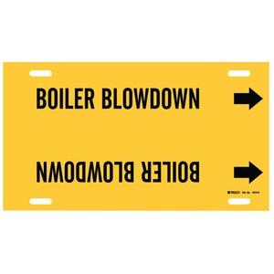 4015-G BRADYSTRAP-ON PIPE MARKER