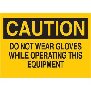 25193 PROTECTIVE WEAR SIGN