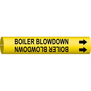 4015-D 4015-D BOILER BLOWDOWN/YEL/STY D