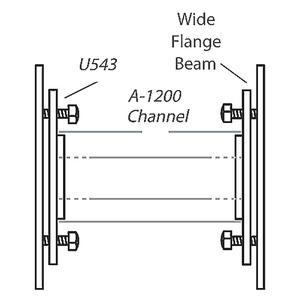 U543HDG ADJUSTING SCREW END CAPS