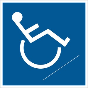 25173 HANDICAPPED SIGN