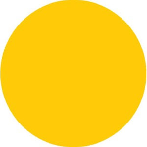 30668 INVENTORY LABEL-3IN YELLOW PPR