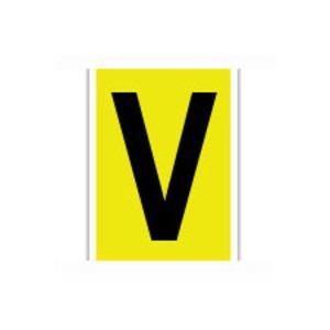 3470-V 34 SERIES NUMBER & LETTER CARD