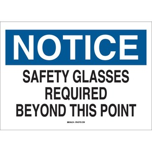 22626 EYE PROTECTION SIGN