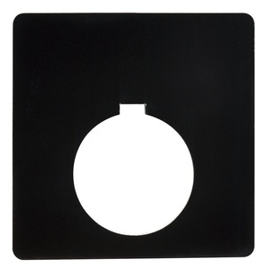 9001KN700BP PUSHBUTTON LEGEND PLATE - PL