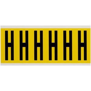 3450-H 34 SERIES NUMBER & LETTER CARD