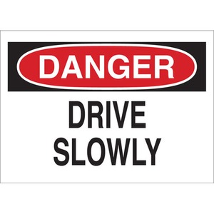 25806 TRAFFIC SIGN: INDUSTRIAL