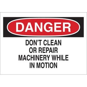 22970 MACHINE & OPERATIONAL SIGN