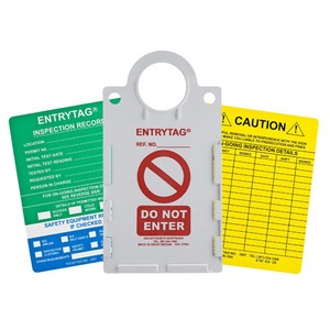 ENT-ETSH157A ENTRY TAG 10 HOLD/20INSRT/1