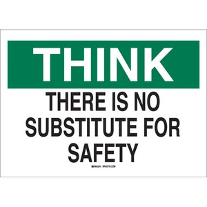 25342 SAFETY SLOGANS SIGN