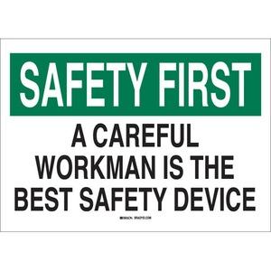 25307 SAFETY SLOGANS SIGN