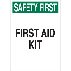 22645 FIRST AID SIGN