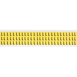 3410-L 34 SERIES NUMBER & LETTER CARD