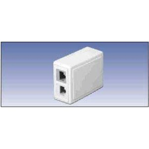 A0645273 2 PORT SIDE ENTRY BOX WHITE