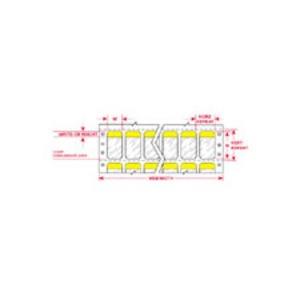 """DAT-69-292-YL 1.000 INX5.937""""  (25.40 MM"""