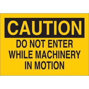 22061 MACHINE & OPERATIONAL SIGN