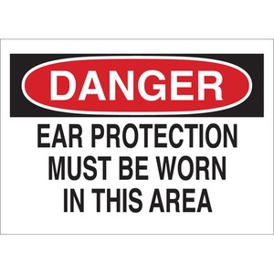 25478 EAR PROTECTION SIGN