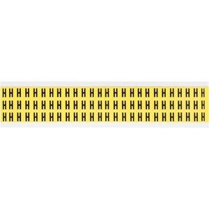 3410-H 34 SERIES NUMBER & LETTER CARD