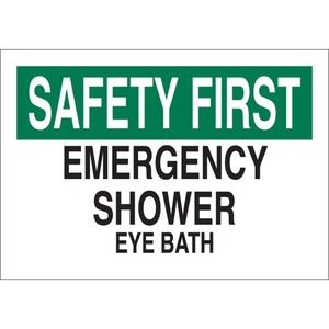 25575 FIRST AID SIGN