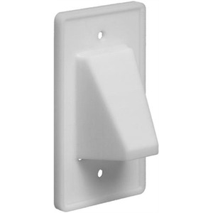 CE1 1PC SCOOP PLATE WHITE