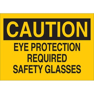 22585 EYE PROTECTION SIGN