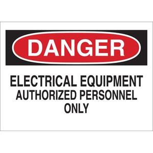 22094 ELECTRICAL HAZARD SIGN