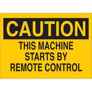 22933 MACHINE & OPERATIONAL SIGN