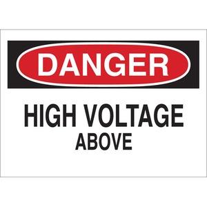 25537 ELECTRICAL HAZARD SIGN