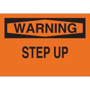 25636 FALL PROTECTION SIGN