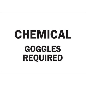 22380 CHEMICAL & HAZD MATERIALS SIGN