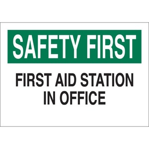 22649 FIRST AID SIGN