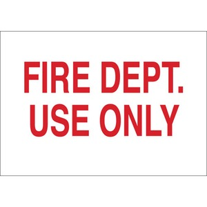 25709 FIRE SIGN