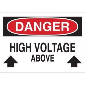 25539 ELECTRICAL HAZARD SIGN