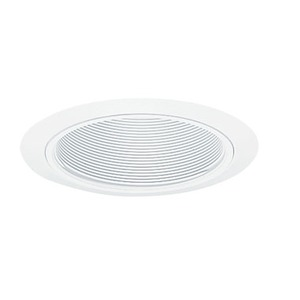 "205WWH 5"" POT LT TRIM WHT BAFF"