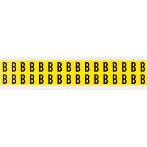 3420-B 34 SERIES NUMBER & LETTER CARD