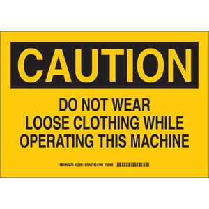 22891 MACHINE & OPERATIONAL SIGN
