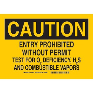 22067 CONFINED SPACE SIGN