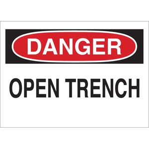 25625 FALL PROTECTION SIGN
