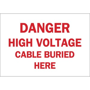 22570 ELECTRICAL HAZARD SIGN